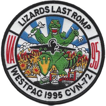 VA-95 Attack Squadron WESTPAC 1995 Patch