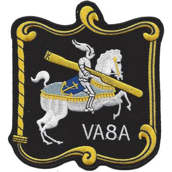 VA-8A Attack Squadron White Knight Patch