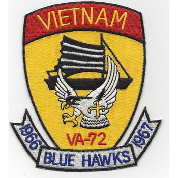 VA-72 Attack Squadron Seventy Two Vietnam 1966-1967 Patch