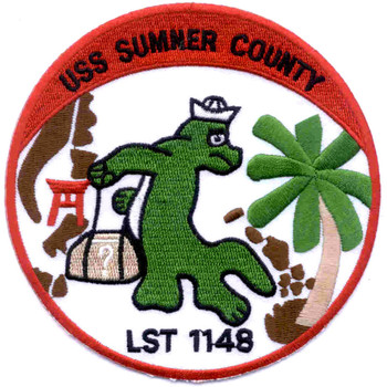 USS Sumner County LST-1148 Patch