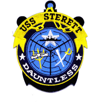 USS Sterett CG-31 Guided Missile Heavy Cruiser Patch