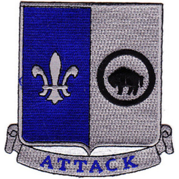 371st Infantry Regiment Patch