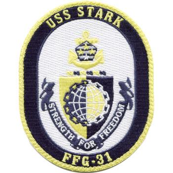 USS Stark FFG-31 4.5 inch Patch