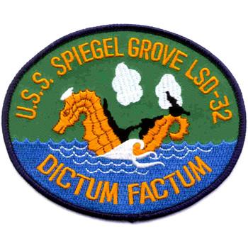 USS Spiegel Grove LSD-32 Patch