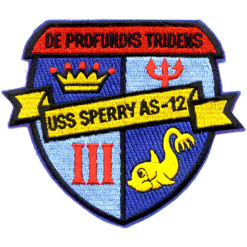 USS Sperry AS-12 Patch