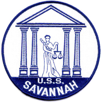 USS Savannah CL-42 Patch