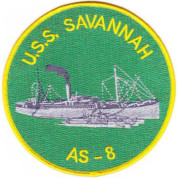 USS Savannah AS-8 Patch