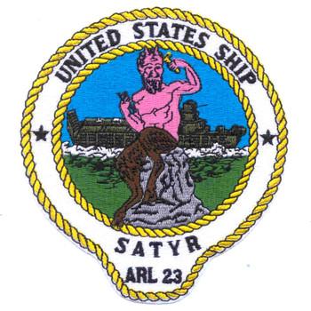 USS Satyr ARL-23 Patch