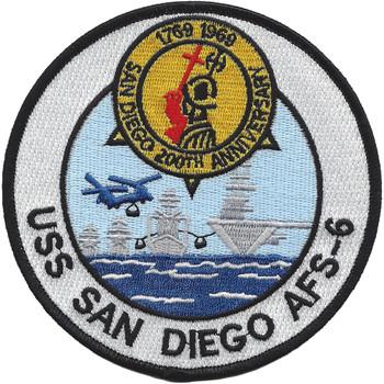 USS San Diego AFS-6 Patch