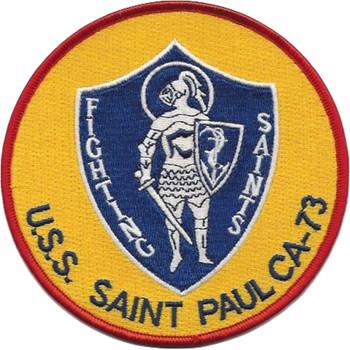 USS Saint Paul CA-73 Patch