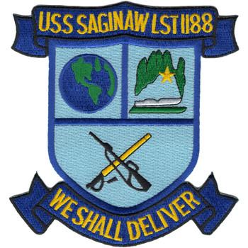 USS Saginaw LST-1188 Patch