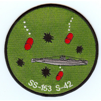 USS S-42 Submarine SS-153 Patch