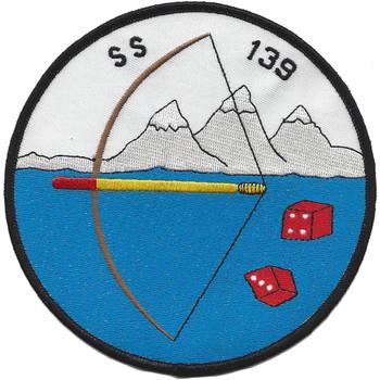 USS S-34 Submarine SS-139 Patch