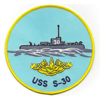 USS S-30 Submarine SS-135 Patch