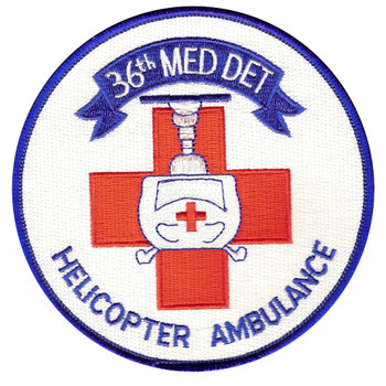 36th Aviation Medical Detachment Patch