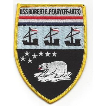 USS Robert E. Perry FF-1073 Frigate Ship Patch