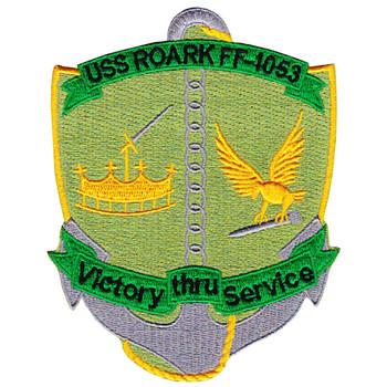 USS Roark FF-1053 Frigate Ship Patch