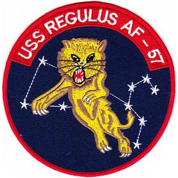 USS Regulus AF-57 Stores Ship Patch