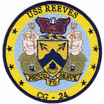 USS Reeves CG-24 Patch