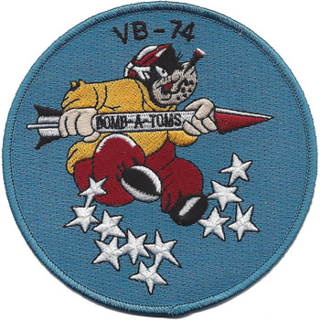 VB-74 Aviation Bombing Squadron Eighty Patch