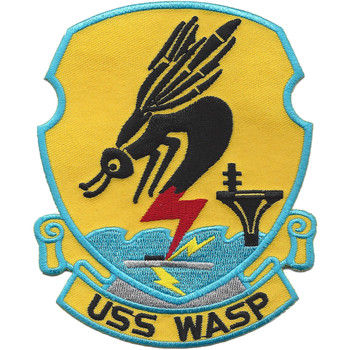 USS Wasp CV-18 CVA-18 CVS-18 Carrier Attack Ship Patch