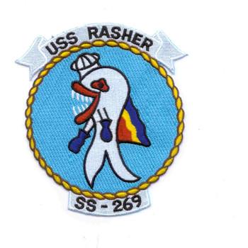 USS Rasher SS-269 Patch