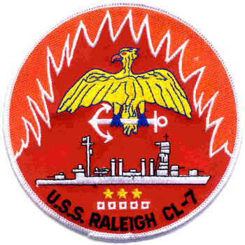 USS Raleigh CL-7 Patch