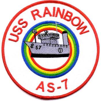 USS Rainbow AS-7 Patch