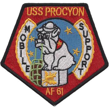 USS Procyon AF-61 Stores Ship Patch