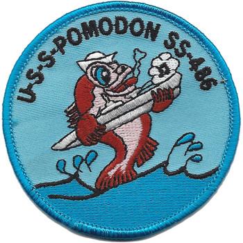 USS Pomodon SS-486 Diesel Electric Submarine Patch