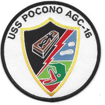 USS Pocono AGC 16 Amphibious Force Command Ship Patch