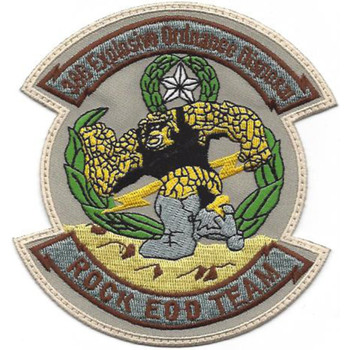 366th Explosive Ordnance Disposal Patch