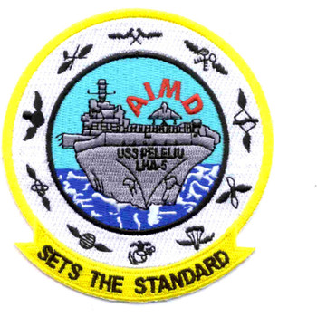 USS Peleliu LHA-5 Patch - Version B
