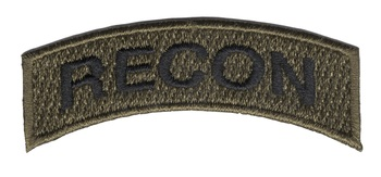 U.S. Special Forces Recon Rocker OD Patch