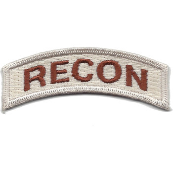 U.S. Special Forces Recon Rocker Desert Patch