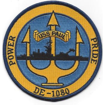 USS Paul DE-1080 Destroyer Escort Ship Patch