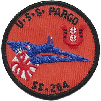 USS Pargo SS-264 Diesel Electric Submarine Patch