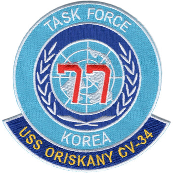 USS Oriskany CV-34 Patch - Task Force 77