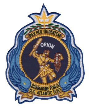 USS Orion AS-18 Patch
