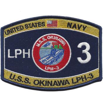 USS Okinawa LPH-3 Ratings Ballcap Patch