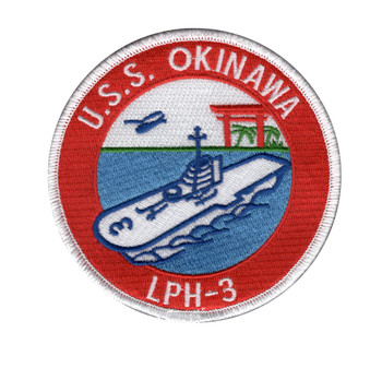 USS Okinawa LPH-3 Amphibious Assault Ship Patch