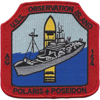 USS Observation Island AG-154 Missile Range Instrumentation Ship Patch