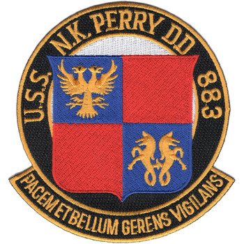 USS NK Perry DD-883 Patch