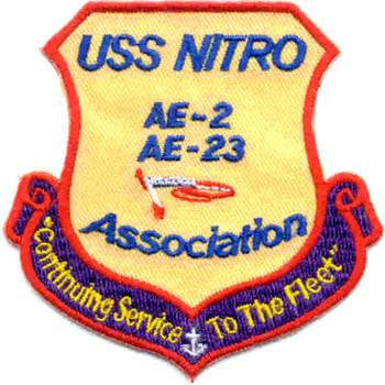 USS Nitro AE-2 Association Patch