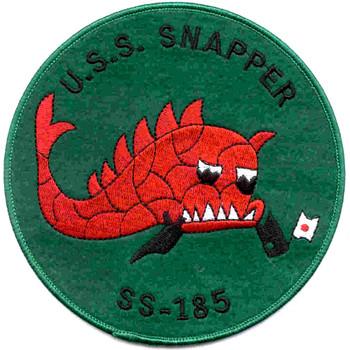 USS Snapper Su bmarine SS-185 Patch