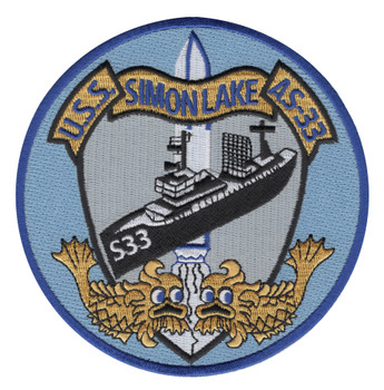 USS Simon Lake AS-33 Patch