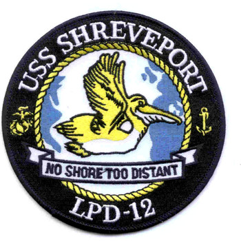 USS Shreveport LPD-12 Patch