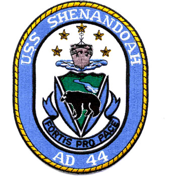 USS Shenandoah AD-44 Destroyer Tenders Ship Patch