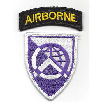 360th Civil Affair Airborne Brigade Patch