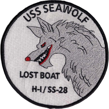 USS Seawolf SS-28 and H-I Lost Boat Patch